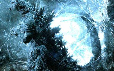 Une nouvelle statue Godzilla version 2004