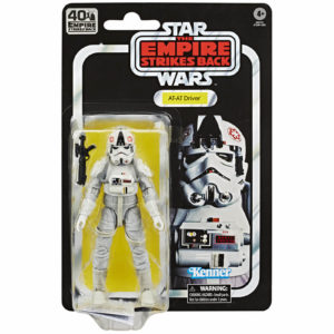 AT-AT DRIVER FIGURINE STAR WARS EPISODE V BLACK SERIES 40TH ANNIVERSARY HASBRO 15 CM 5010993660582 kingdom-figurine.fr