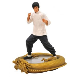 BRUCE LEE STATUETTE 80TH BIRTHDAY PREMIER COLLECTION DIAMOND SELECT 28 CM (0) 699788834602 kingdom-figurine.fr