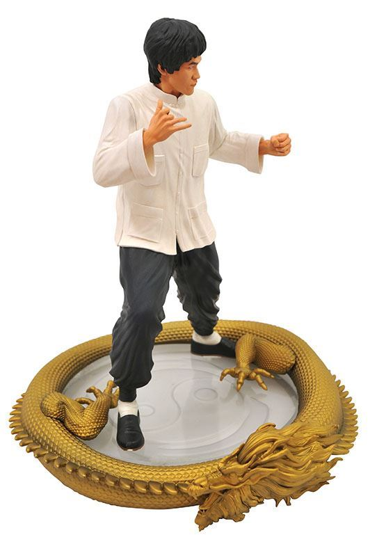 BRUCE LEE STATUETTE 80TH BIRTHDAY PREMIER COLLECTION DIAMOND SELECT 28 CM (2) 699788834602 kingdom-figurine.fr