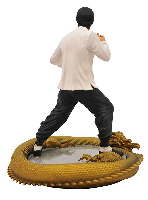 BRUCE LEE STATUETTE 80TH BIRTHDAY PREMIER COLLECTION DIAMOND SELECT 28 CM (3) 699788834602 kingdom-figurine.fr