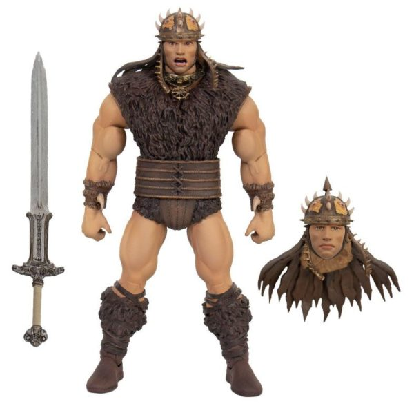 CONAN LE BARBARE FIGURINE ULTIMATES CONAN SUPER7 18 CM (0) 840049800878 kingdom-figurine.fr