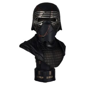 KYLO REN BUSTE 1-2 STAR WARS EPISODE IX 3D LEGENDS DIAMOND SELECT 25 CM 699788838181 kingdom-figurine.fr
