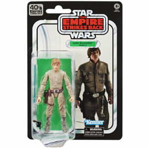 LUKE SKYWALKER FIGURINE STAR WARS EPISODE V BLACK SERIES 40TH ANNIVERSARY HASBRO 14 CM 5010993678549 kingdom-figurine.fr