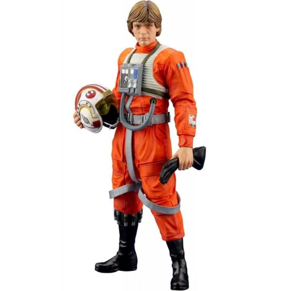 LUKE SKYWALKER X-WING PILOT STATUETTE PVC ARTFX+ 1-10 STAR WARS KOTOBUKIYA 17 CM (0bis) 4934054013890 kingdom-figurine.fr