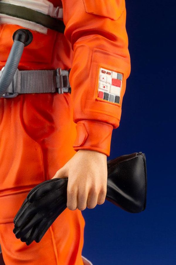 LUKE SKYWALKER X-WING PILOT STATUETTE PVC ARTFX+ 1-10 STAR WARS KOTOBUKIYA 17 CM (10) 4934054013890 kingdom-figurine.fr