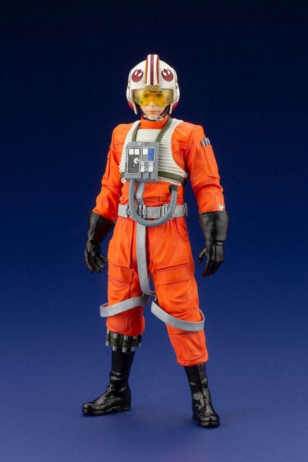 LUKE SKYWALKER X-WING PILOT STATUETTE PVC ARTFX+ 1-10 STAR WARS KOTOBUKIYA 17 CM (1bis) 4934054013890 kingdom-figurine.fr