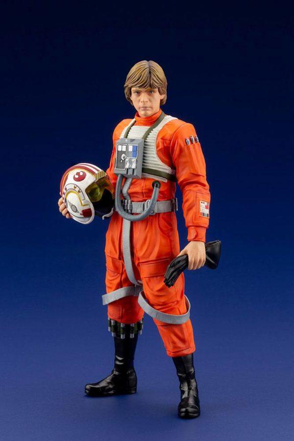 LUKE SKYWALKER X-WING PILOT STATUETTE PVC ARTFX+ 1-10 STAR WARS KOTOBUKIYA 17 CM (2) 4934054013890 kingdom-figurine.fr