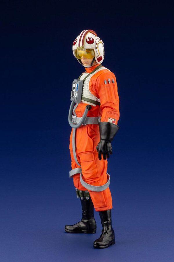 LUKE SKYWALKER X-WING PILOT STATUETTE PVC ARTFX+ 1-10 STAR WARS KOTOBUKIYA 17 CM (2bis) 4934054013890 kingdom-figurine.fr