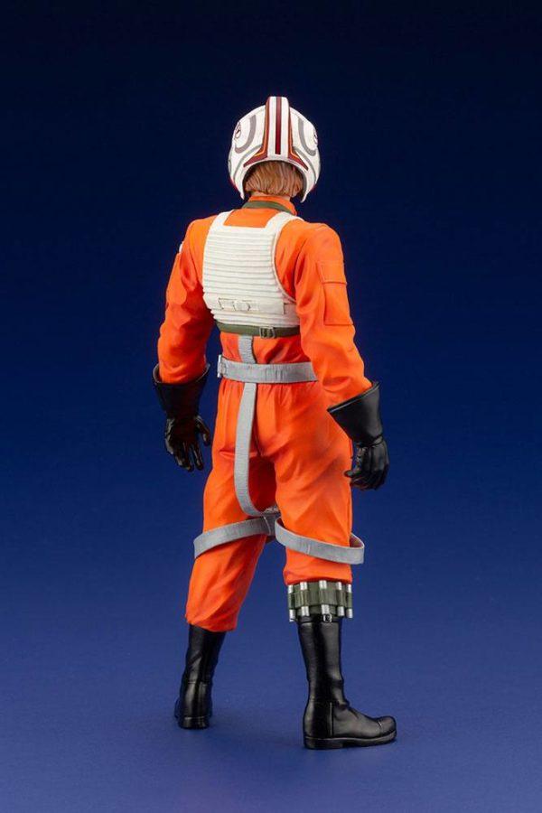 LUKE SKYWALKER X-WING PILOT STATUETTE PVC ARTFX+ 1-10 STAR WARS KOTOBUKIYA 17 CM (3bis) 4934054013890 kingdom-figurine.fr