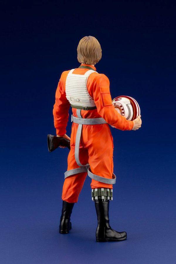 LUKE SKYWALKER X-WING PILOT STATUETTE PVC ARTFX+ 1-10 STAR WARS KOTOBUKIYA 17 CM (4) 4934054013890 kingdom-figurine.fr