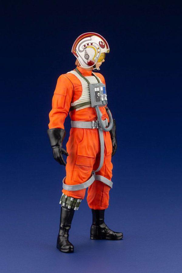 LUKE SKYWALKER X-WING PILOT STATUETTE PVC ARTFX+ 1-10 STAR WARS KOTOBUKIYA 17 CM (4bis) 4934054013890 kingdom-figurine.fr