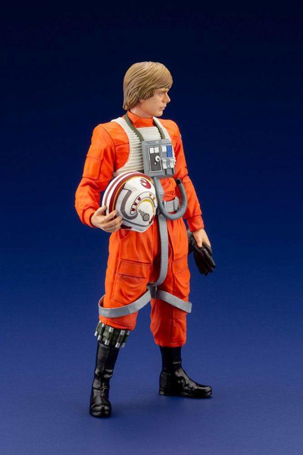 LUKE SKYWALKER X-WING PILOT STATUETTE PVC ARTFX+ 1-10 STAR WARS KOTOBUKIYA 17 CM (5) 4934054013890 kingdom-figurine.fr