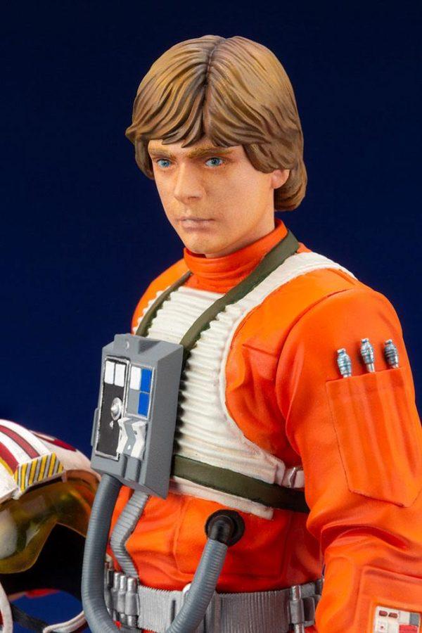 LUKE SKYWALKER X-WING PILOT STATUETTE PVC ARTFX+ 1-10 STAR WARS KOTOBUKIYA 17 CM (8) 4934054013890 kingdom-figurine.fr