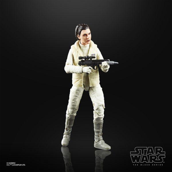 PRINCESS LEIA FIGURINE STAR WARS EPISODE V BLACK SERIES 40TH ANNIVERSARY HASBRO 13 CM (2) 5010993660544 kingdom-figurine.fr