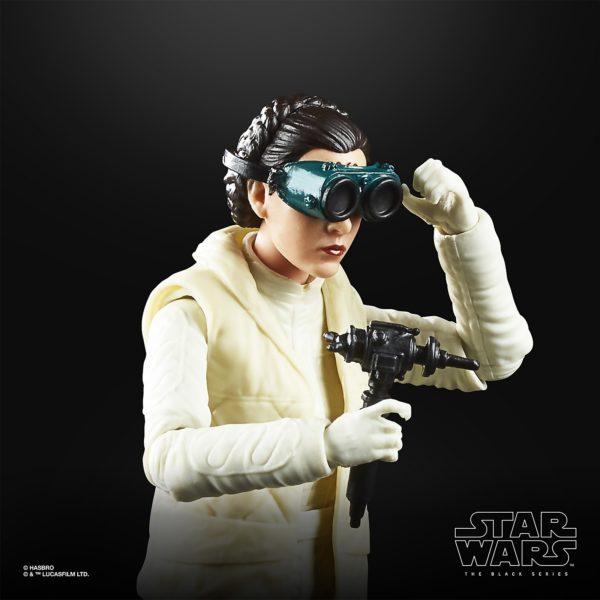 PRINCESS LEIA FIGURINE STAR WARS EPISODE V BLACK SERIES 40TH ANNIVERSARY HASBRO 13 CM (3) 5010993660544 kingdom-figurine.fr