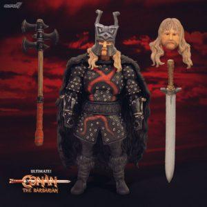 REXOR FIGURINE ULTIMATES CONAN LE BARBARE SUPER7 18 CM 840049800892 kingdom-figurine.fr