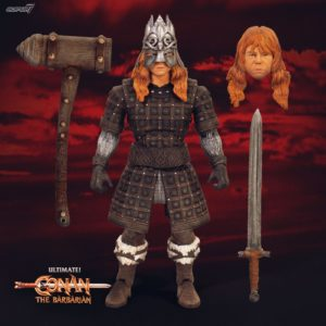 THORGRIM FIGURINE ULTIMATES CONAN LE BARBARE SUPER7 18 CM 840049800908 kingdom-figurine.fr