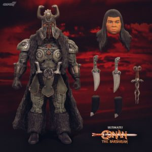 THULSA DOOM FIGURINE ULTIMATES CONAN LE BARBARE SUPER7 18 CM 840049800885 kingdom-figurine.fr
