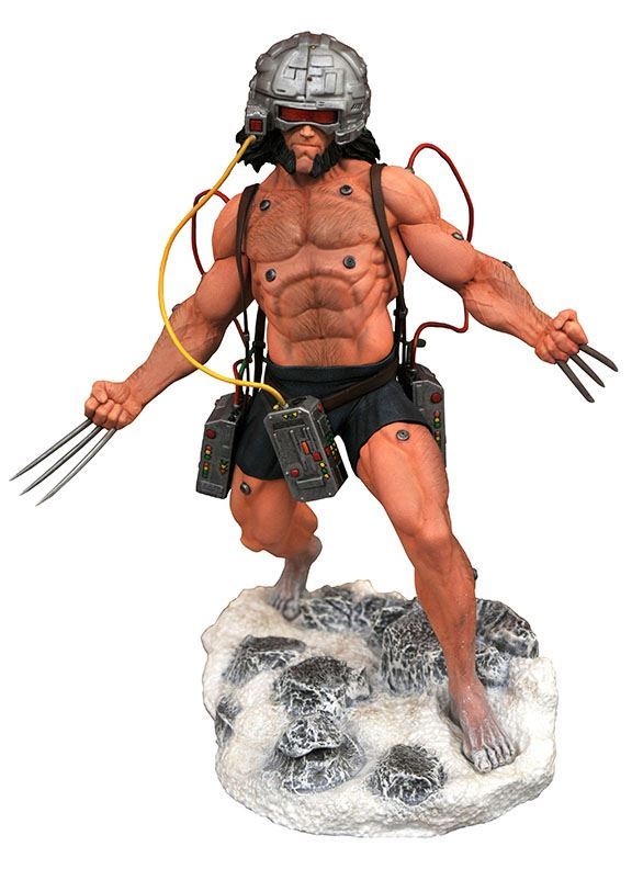 WEAPON X (WOLVERINE) STATUETTE MARVEL COMIC GALLERY DIAMOND SELECT 23 CM (1bis) 699788837412 kingdom-figurine.fr