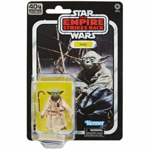 YODA FIGURINE STAR WARS EPISODE V BLACK SERIES 40TH ANNIVERSARY HASBRO 8 CM 5010993660568 kingdom-figurine.fr