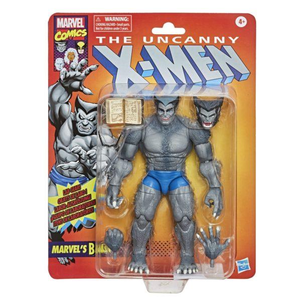 BEAST FIGURINE UNCANNY X-MEN MARVEL VINTAGE COLLECTION HASBRO 15 CM (1) 5010993727230 kingdom-figurine.fr