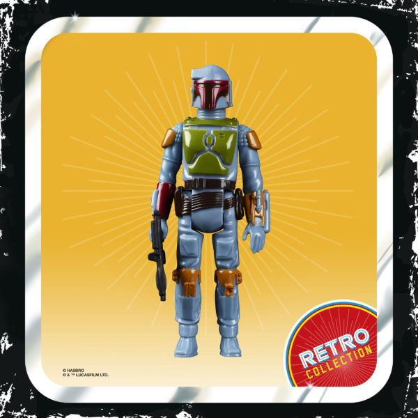 BOBA FETT FIGURINE STAR WARS EPISODE V RETRO COLLECTION WAVE 2 HASBRO 10 CM (1) 5010993687107 kingdom-figurine.fr