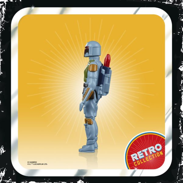 BOBA FETT FIGURINE STAR WARS EPISODE V RETRO COLLECTION WAVE 2 HASBRO 10 CM (2) 5010993687107 kingdom-figurine.fr