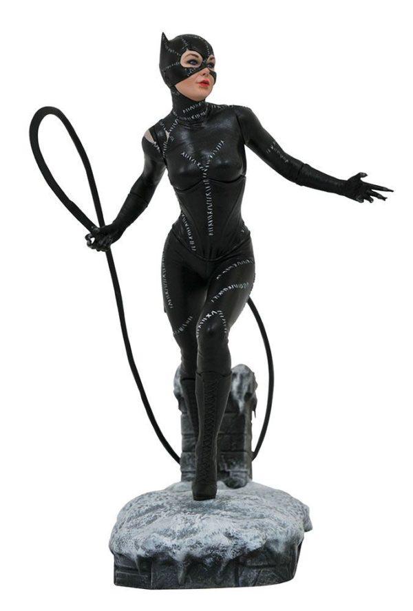 CATWOMAN STATUETTE BATMAN RETURNS DC MOVIE GALLERY DIAMOND SELECT 23 CM (1bis) 699788832844 kingdom-figurine.fr