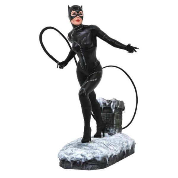 CATWOMAN STATUETTE BATMAN RETURNS DC MOVIE GALLERY DIAMOND SELECT 23 CM 699788832844 kingdom-figurine.fr