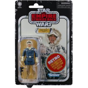 HAN SOLO FIGURINE STAR WARS EPISODE V RETRO COLLECTION WAVE 2 HASBRO 10 CM 5010993687084 kingdom-figurine.fr