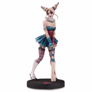 HARLEY QUINN BY ENRICO MARINI STATUETTE DC DESIGNER SERIES DC COLLECTIBLES 32 CM 761941363455 kingdom-figurine.fr