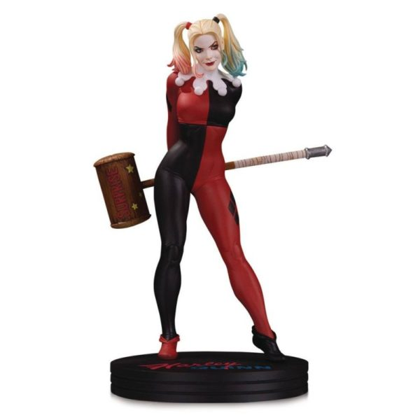 HARLEY QUINN BY FRANK CHO STATUETTE DC COVER GIRLS DC COLLECTIBLES 23 CM 761941364131 kingdom-figurine.fr