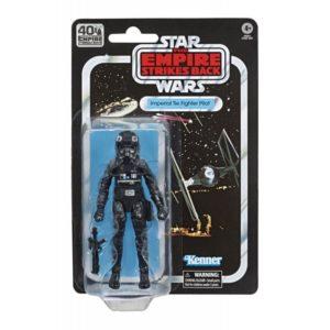 IMPERIAL TIE FIGHTER PILOT FIGURINE STAR WARS EPISODE V BLACK SERIES 40TH ANNIVERSARY HASBRO 15 CM 5010993695041 kingdom-figurine.fr