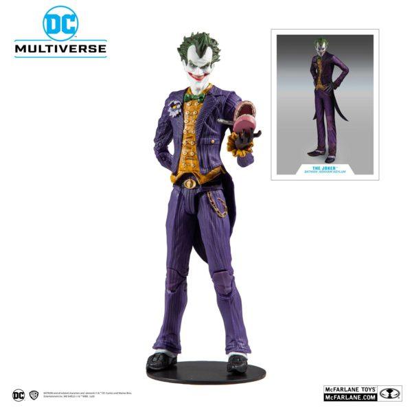 JOKER ARKHAM ASYLUM FIGURINE JOKER DC MULTIVERSE McFARLANE TOYS 18 CM (1) 787926153477 kingdom-figurine.fr