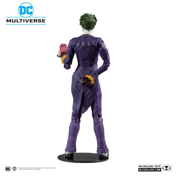 JOKER ARKHAM ASYLUM FIGURINE JOKER DC MULTIVERSE McFARLANE TOYS 18 CM (3) 787926153477 kingdom-figurine.fr