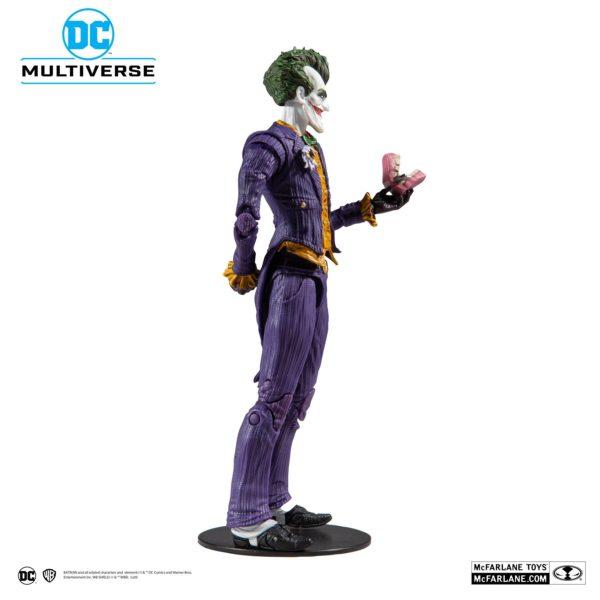 JOKER ARKHAM ASYLUM FIGURINE JOKER DC MULTIVERSE McFARLANE TOYS 18 CM (4) 787926153477 kingdom-figurine.fr