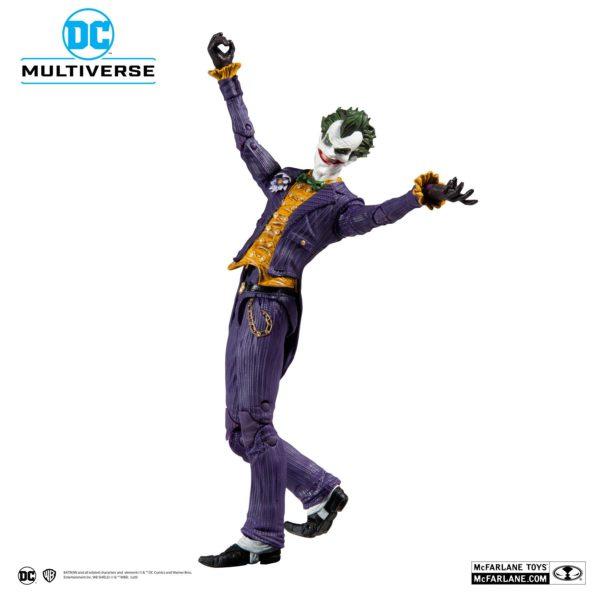 JOKER ARKHAM ASYLUM FIGURINE JOKER DC MULTIVERSE McFARLANE TOYS 18 CM (5) 787926153477 kingdom-figurine.fr