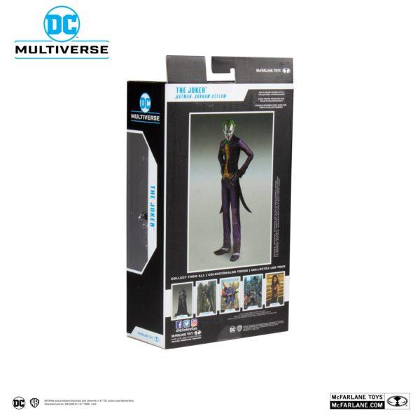 JOKER ARKHAM ASYLUM FIGURINE JOKER DC MULTIVERSE McFARLANE TOYS 18 CM (8) 787926153477 kingdom-figurine.fr