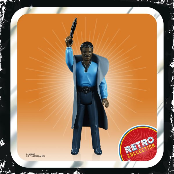 LANDO CALRISSIAN FIGURINE STAR WARS EPISODE V RETRO COLLECTION WAVE 2 HASBRO 10 CM (2) 5010993687121 kingdom-figurine.fr