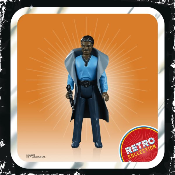LANDO CALRISSIAN FIGURINE STAR WARS EPISODE V RETRO COLLECTION WAVE 2 HASBRO 10 CM (3) 5010993687121 kingdom-figurine.fr