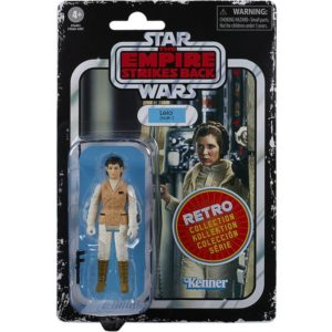 LEIA FIGURINE STAR WARS EPISODE V RETRO COLLECTION WAVE 2 HASBRO 10 CM 5010993687077 kingdom-figurine.fr