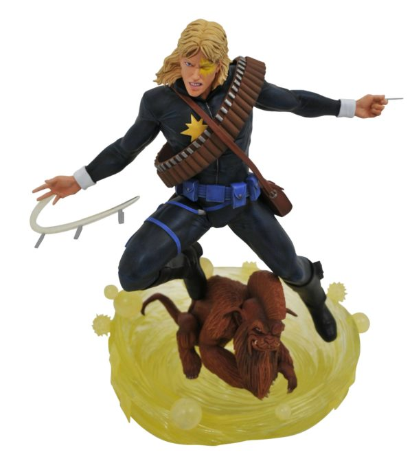 LONGSHOT STATUETTE X-MEN MARVEL COMIC GALLERY DIAMOND SELECT 30 CM (2) 699788837801 kingdom-figurine.fr