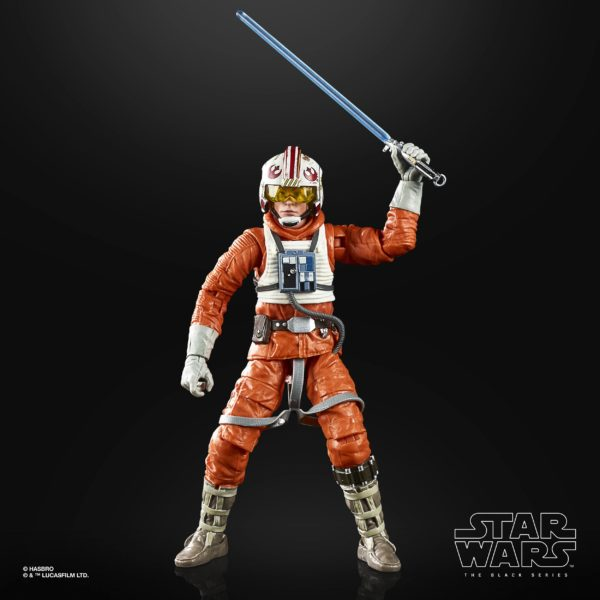LUKE SKYWALKER FIGURINE STAR WARS EPISODE V BLACK SERIES 40TH ANNIVERSARY HASBRO 15 CM (2) 5010993695058 kingdom-figurine.fr