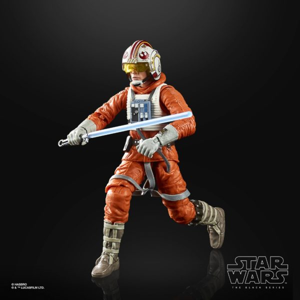 LUKE SKYWALKER FIGURINE STAR WARS EPISODE V BLACK SERIES 40TH ANNIVERSARY HASBRO 15 CM (3) 5010993695058 kingdom-figurine.fr