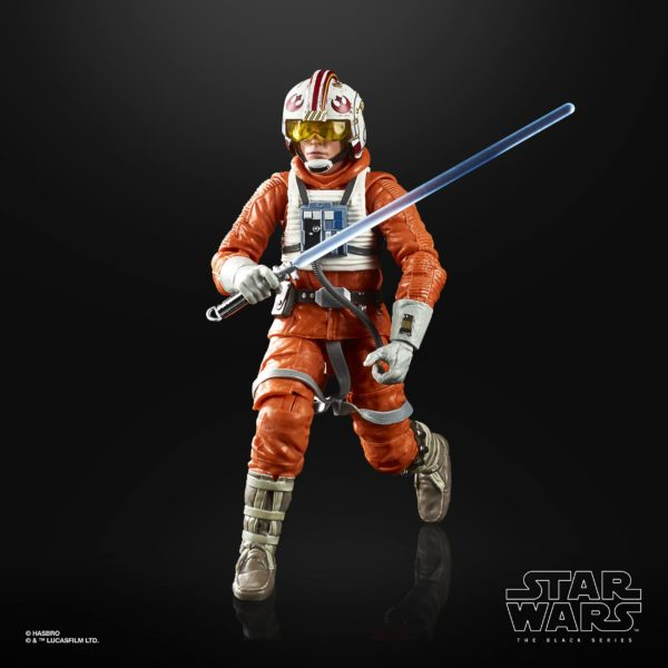 LUKE SKYWALKER FIGURINE STAR WARS EPISODE V BLACK SERIES 40TH ANNIVERSARY HASBRO 15 CM (4) 5010993695058 kingdom-figurine.fr