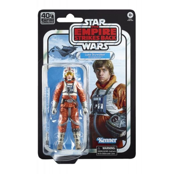 LUKE SKYWALKER FIGURINE STAR WARS EPISODE V BLACK SERIES 40TH ANNIVERSARY HASBRO 15 CM 5010993695058 kingdom-figurine.fr