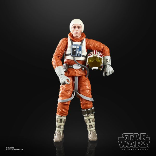 LUKE SKYWALKER FIGURINE STAR WARS EPISODE V BLACK SERIES 40TH ANNIVERSARY HASBRO 15 CM (6) 5010993695058 kingdom-figurine.fr