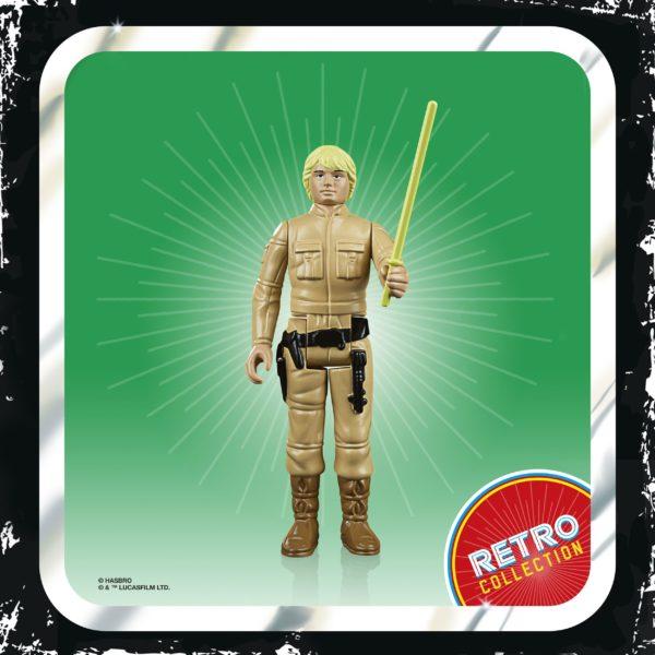 LUKE SKYWALKER FIGURINE STAR WARS EPISODE V RETRO COLLECTION WAVE 2 HASBRO 10 CM (1) 5010993687114 kingdom-figurine.fr