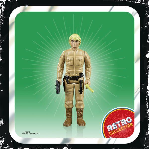 LUKE SKYWALKER FIGURINE STAR WARS EPISODE V RETRO COLLECTION WAVE 2 HASBRO 10 CM (2) 5010993687114 kingdom-figurine.fr